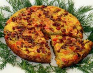 کوکوی کنگر غذایی خوشمزه و پر از خاصیت