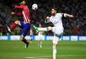 خلاصه 90 دقیقه رئال مادرید 1-1 اتلتیکو مادرید