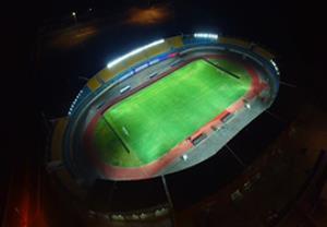 نمایی زیبا از محل برگزاری فینال جام حذفی(اختصاصیورزش3)