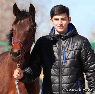 قهرمانی پسر سردار آزمون در مسابقات اسب دوانی