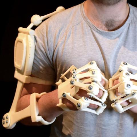 پرینت سه بعدی بازوهای الیسیوم