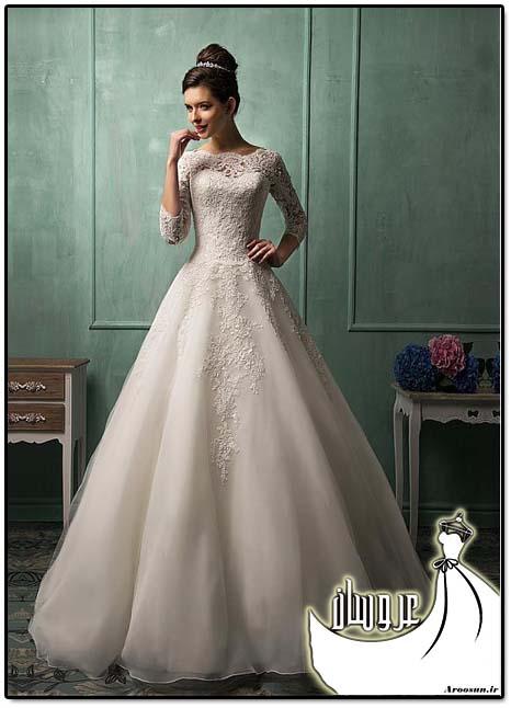 مدل لباس عروس پوشیده - بخش دوم