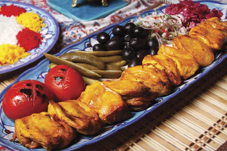 منو غذایی | رستوران باغ شانار استان یزد