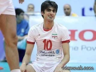امیر غفور از مسابقه والیبال ایران با فرانسه باز ماند!