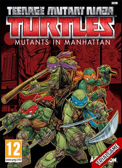 دانلود نسخه CODEX بازی Teenage Mutant Ninja Turtles Mutants in Manhattan