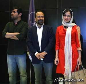 ماجرای جالب کراوات شهاب و لباس های ترانه علیدوستی