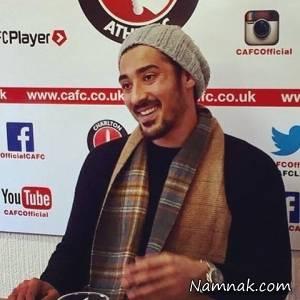 تیپ رضا قوچان نژاد در لندن + اینستاپست