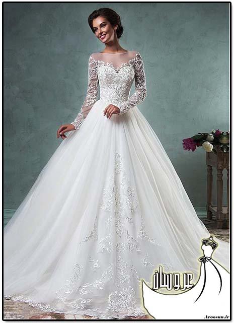 مدل لباس عروس پوشیده - بخش سوم