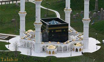مسجدی جالب به شکل خانه خدا