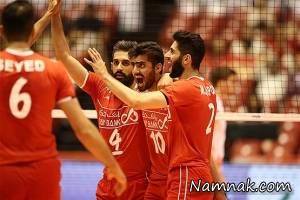 بازی والیبال ایران و چین در مقدماتی المپیک 2016 + فیلم