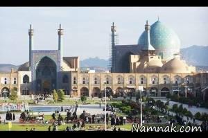 تاریخچه میدان نقش جهان و مسجد شاه اصفهان + تصاویر