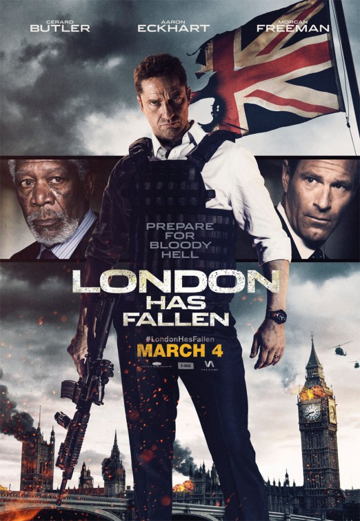 فیلم London Has Fallen 2016 + زیرنویس فارسی