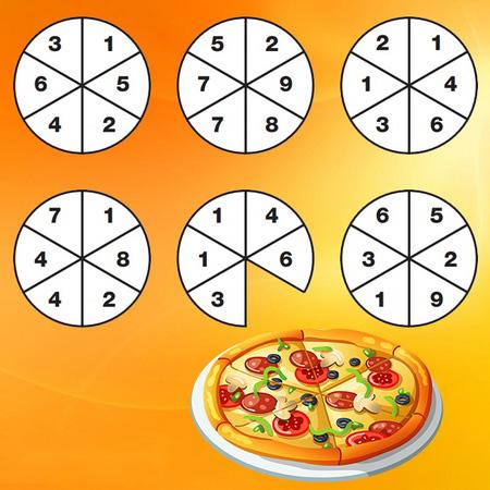 تست هوش: پیتزاها و اسلایس خورده شده!