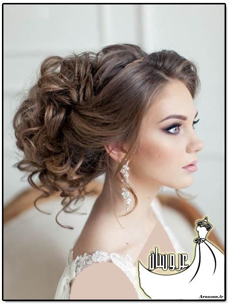مدل مو عروس - بخش اول