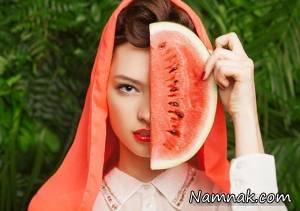 این ماسک هندوانه را حتما امتحان کنید، جادو می کند!