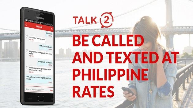 برنامه ساخت شماره مجازی فیلیپین | Talk2 PH