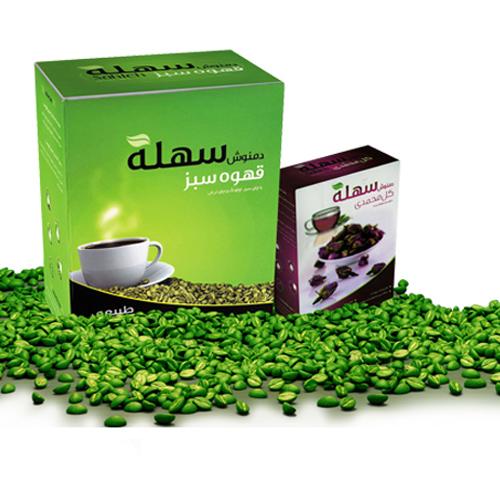 خرید اینترنتی «قهوه سبز» سهله