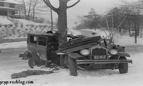 تصاویری جالب از تصادفات اولیه در تاریخ