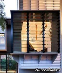 دکوراسیون خانه هایی که بدون کولر خنک می شوند + تصاویر
