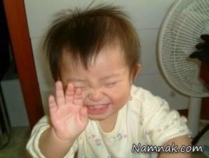 خنده دارترین گریه های کودکان! + تصاویر