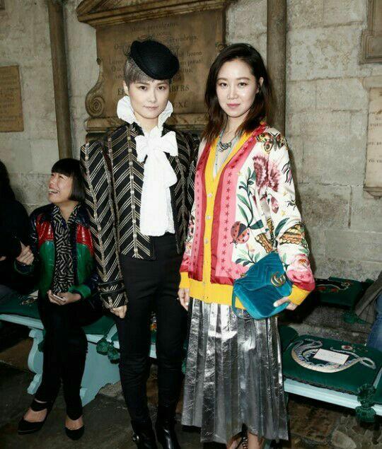 گونگ هیو جین اولین بازیگر زن کره ای در مراسم برند گوچی