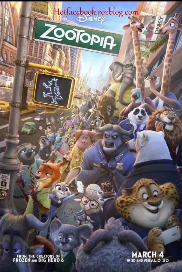دانلود انیمیشن Zootopia 2016 با دوبله فارسی