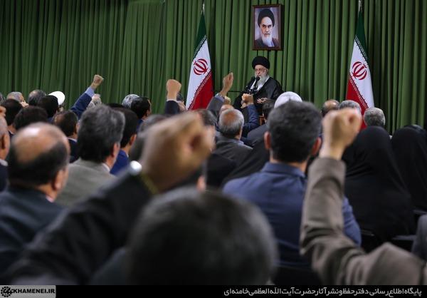 بیانات در دیدار رئیس و نمایندگان مجلس شورای اسلامی