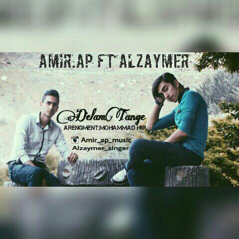 دانلود آهنگ جدید Amir A.P و Alzaymer به نام دلم تنگه