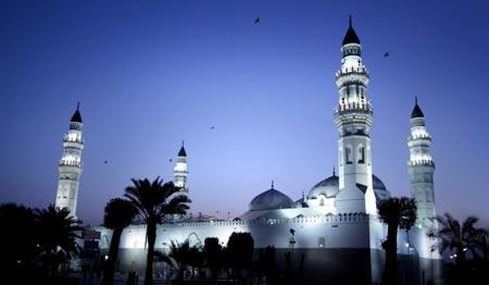 مسجد قبا اولين مسجد بنا شده در اسلام + تصاویر
