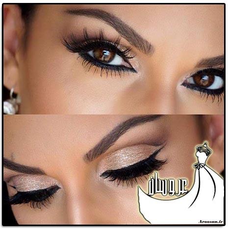 مدل آرایش چشم عروس - بخش 2