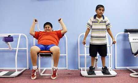 تاثیر ورزشهای هوازی بر چاقی مفرط در کودکان