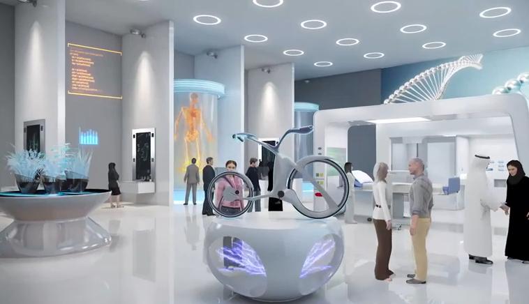 موزه ای در دوبی با پرینتر سه بعدی