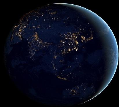 جهان درحال گسترده شدن