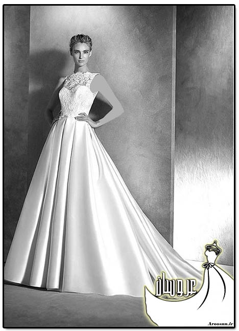 مدل لباس عروس پوشیده - بخش 4
