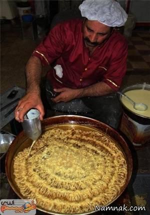 بزرگترین زولبیای ایران در ماه رمضان امسال + عکس