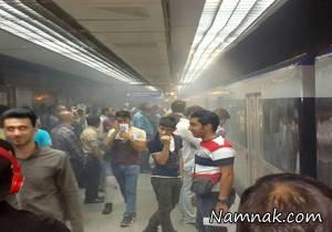 علت دود غلیظ ایستگاه مترو دروازه شمیران مشخص شد