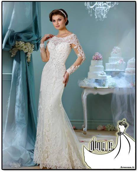 مدل لباس عروس دانتل - بخش 2