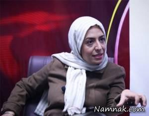 ساناز سماواتی بازیگر سینما در دام کلاهبرداران