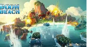 دانلود بازی بسیار زیبای boom beach (بوم بیچ) برای اندروید