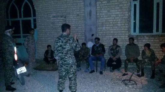 گشت های عملیاتی در محله اردشیری