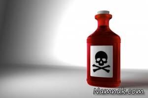زن جوان با پاشیدن اسید شوهرش را کشت