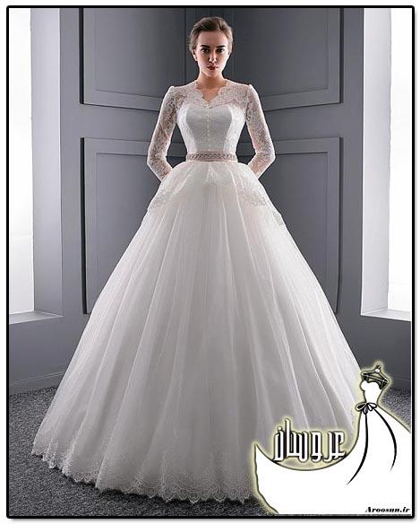 مدل لباس عروس پفی - بخش 4