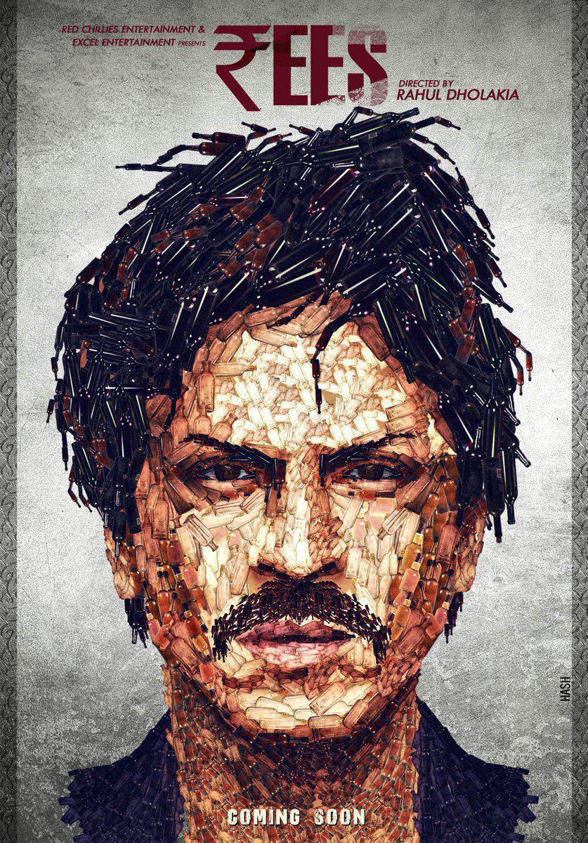 پوستری از فیلم رییس توسط Rajesh Ghadigaonkar