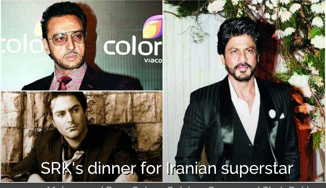 دعوت شاهرخ خان از گلزار برای شام!