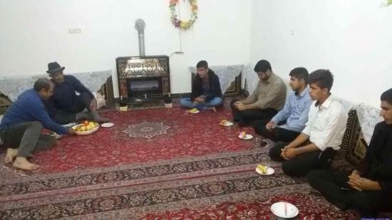 دیدار با خانواده شهید عسکر واضع