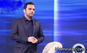 """قول """"احسان علیخانی"""" به جناب خان در ماه عسل عملی شد + عکس"""