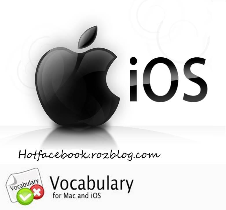 شرح اصطلاحات رایج سیستم عامل iOS در iPhone/iPod/iPad و تلفظ صحیح آنها