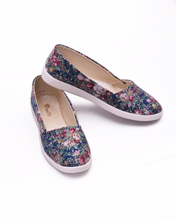 خرید اینترنتی «کفش دخترانه گل دار» مدل 1210