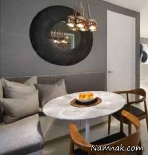دکوراسیون لوکس 2 آپارتمان شیک در نیویورک + پلان