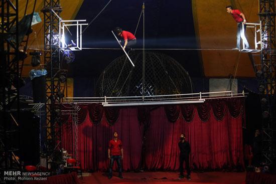 سیرکی عجیب در تهران که حیوان ندارد+تصاویر